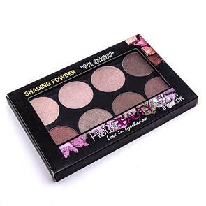 Палитра теней Huda Beauty Love in Eyeshadow 8 в 1 Палитра 2