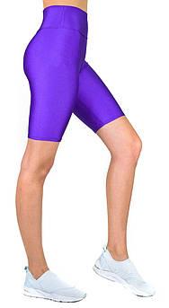 Спортивные женские велосипедки для фитнеса и бега, велошорты из бефлекса для спорта L (46-48)