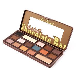 Палитра теней Too Faced Chocolate Bar Semi-Sweet 16 в 1