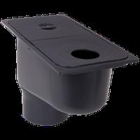 Дождеприемник ZMM MAXPOL с нижним подключением размеры :300*160*210