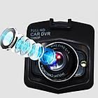 Автомобильный видео регистратор GT350, Full HD обзор 170°, ночное видения, датчик движения, авто регистратор, фото 4