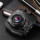 Автомобильный видео регистратор GT350, Full HD обзор 170°, ночное видения, датчик движения, авто регистратор, фото 8
