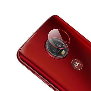 Защитное стекло на камеру Clear Glass Box для Motorola Moto G7 (clear)