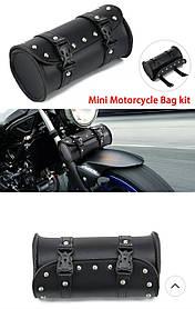 Компактный кофр тубус на классический мотоцикл