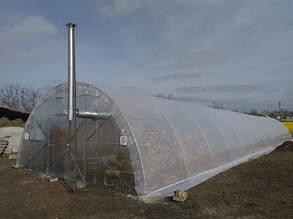 Торець для теплиці Урожай - 6 м під полікарбонат 10 мм