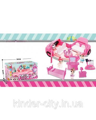 Кукла Лол 11-611 Подарочная упаковка с аксессуарами, Лол LOL