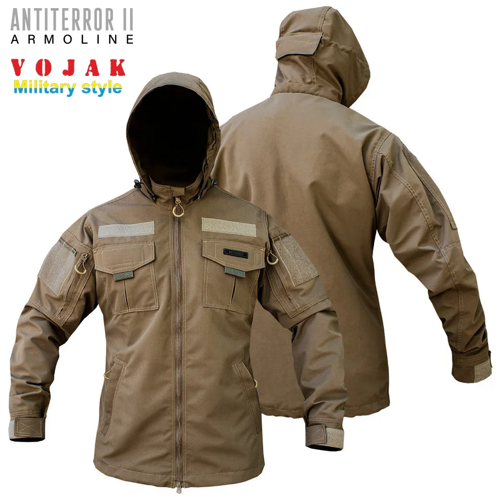 Куртка тактическая (ANTITERROR II) Мембрана Coyote