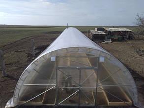 Торець для теплиці Урожай 6 м під полікарбонат 8 мм
