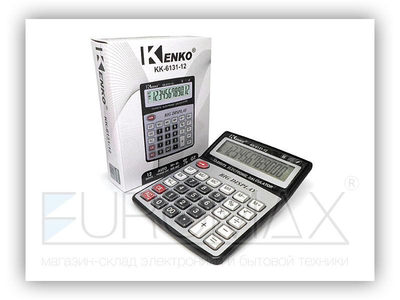 Калькулятор 1xAA 60шт CAL-6131-12