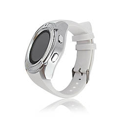 Розумні смарт годинник Smart Watch V8 білі