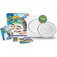 Система привчання котів до унітазу туалету  Citi Kitty Cat Toilet Training Kit