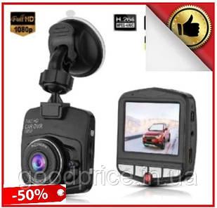 Автомобильный видео регистратор GT350, Full HD обзор 170°, ночное видения, датчик движения, авто регистратор