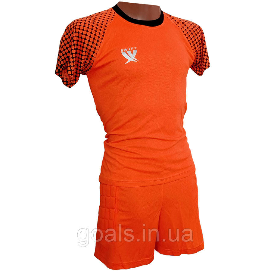 Вратарская форма (футболка - шорты) Swift, Mal (н. оранжевый) р. M
