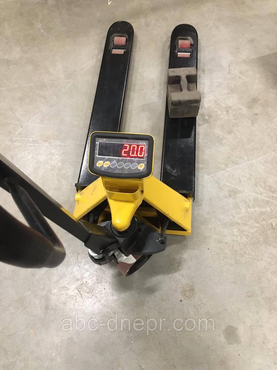 Вага - візок гідравлічний 2000 кг