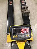 Вага - візок гідравлічний 2000 кг, фото 2