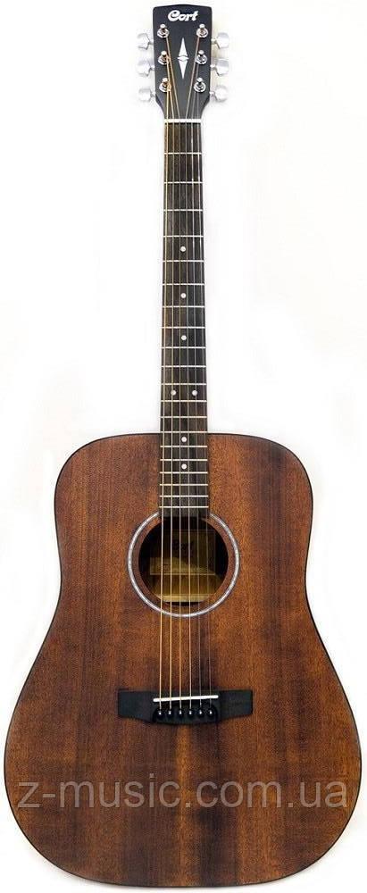 Гитара акустическая CORT AD810M (Open Pore) + порожек, зажим, копилка и 2 медиатора