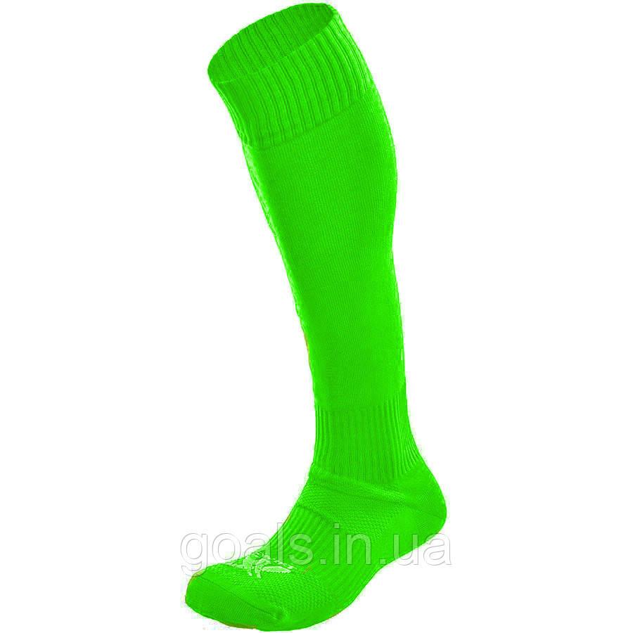 Гетры футбольные Swift Classic Socks неон/салат, 27р
