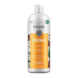 Безсульфатный шампунь с кокосом Иноар Бомбар , 1000 мл  NEW !