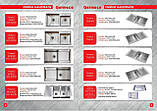 Кухонная мойка стальная Germece HANDMADE H-1000500 R металл 3/1.2 мм 100х50 см, фото 9