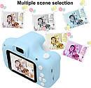 Цифровой детский фотоаппарат XoKo KVR-001 Голубой 169510, фото 5