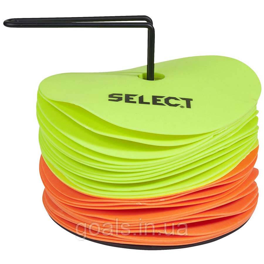 Набір маркерів SELECT FLOOR MARKER MAT SET (234), 12 лайм+ 12 оранж