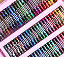 Набор для рисования с мольбертом 208 предметов Розовый 171667 sale, фото 5