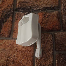 Оригинальная подсветка для унитаза с датчиком движения  (Настоящие фото), фото 3