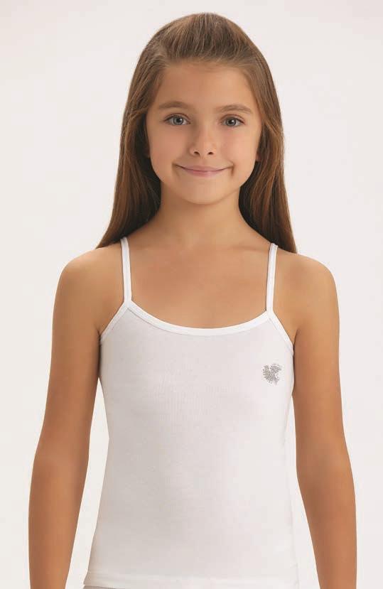 Майка для девочки белая Baykar Б4108 рост 158-164
