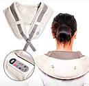 Ударный массажер для спины, шеи и поясницы Cervical Massage Shawls 150183, фото 3