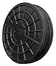 Крышка колодца 315 Мпласт черная