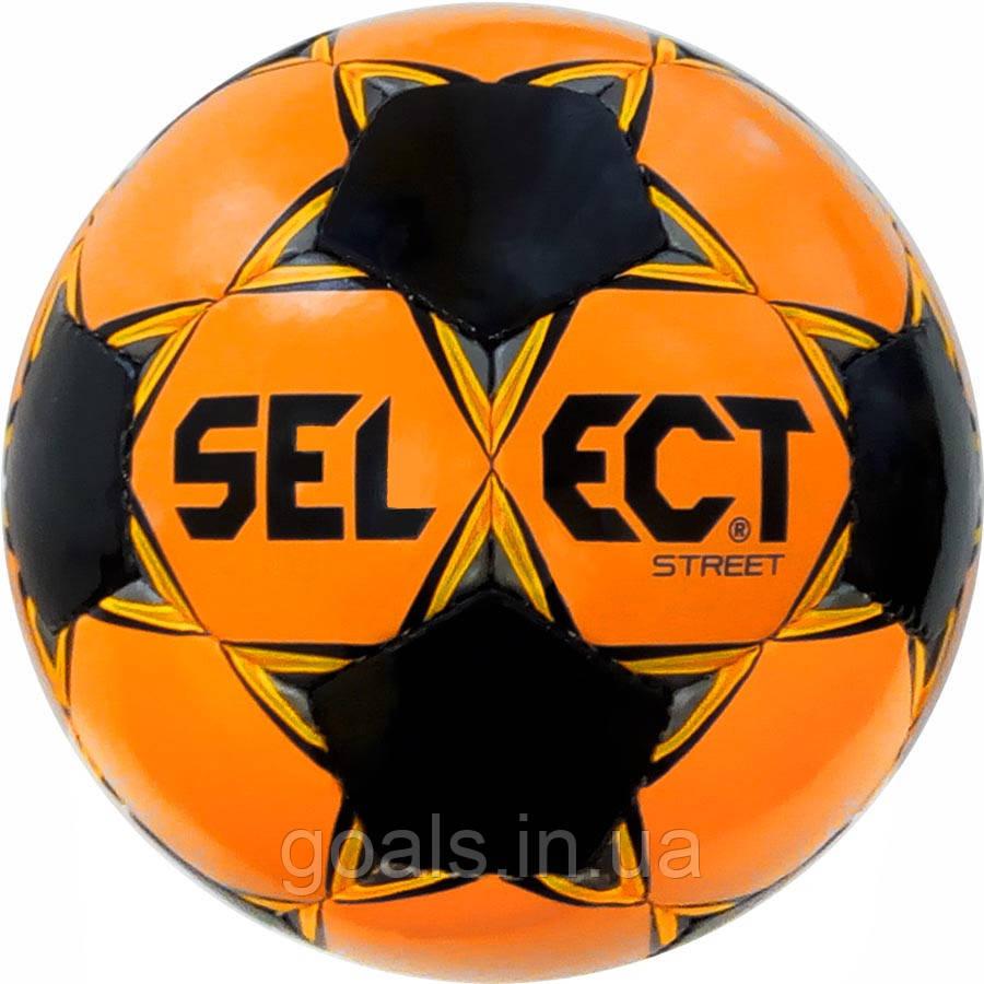 Мяч футбольный SELECT Street (048) оранж/черный, размер 5