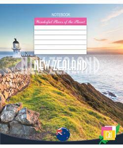Тетрадь 24 листа в линейку (3093л) Новая Зеландия