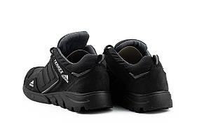 Чоловічі кросівки шкіряні весна/осінь чорні-сірі ZNIK A3 Terrex, фото 3