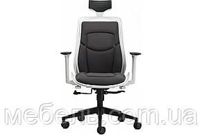 Кресло для врача Barsky BFB-01 Freelance White/Gray, кресло из ткани, белый / серый, фото 2