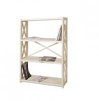 Стеллаж для книг деревянный 4 полки RAN4