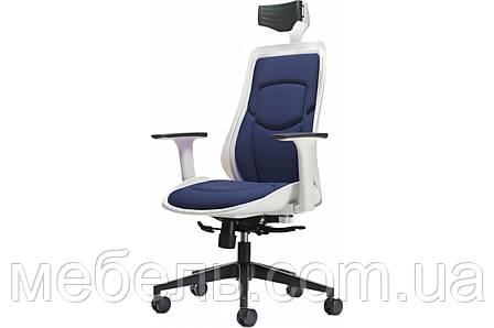 Мягкое кресло Barsky Freelance White/Navy BFB-02, фото 2