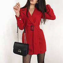 Женское стильное платье пиджак в расцветках, фото 3