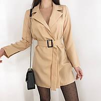 Женское стильное платье пиджак в расцветках, фото 8