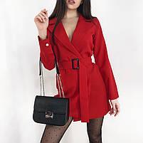 Женское стильное платье пиджак в расцветках, фото 10