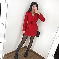 Женское стильное платье пиджак в расцветках, фото 2