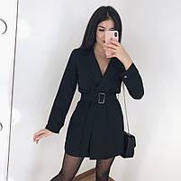 Женское стильное платье пиджак в расцветках, фото 5