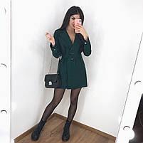 Женское стильное платье пиджак в расцветках, фото 6