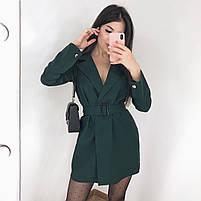 Женское стильное платье пиджак в расцветках, фото 7