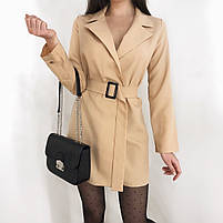 Женское стильное платье пиджак в расцветках, фото 9