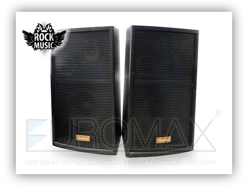 Акустические колонки Rock Music 100Вт 6,5 дюймов 41x24x19см L/R HF-825