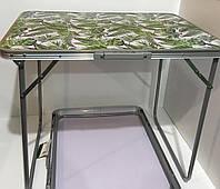Стол-чемодан R28858, 70х50х60 см, пальмовые листья