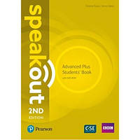 Учебник английского языка Speakout (2nd Edition) Advanced Plus Student's Book with DVD-ROM
