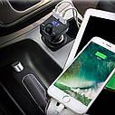 FM модулятор трансмиттер Car X8 с Bluetooth MP3 TOP, фото 6