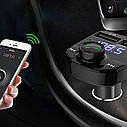 FM модулятор трансмиттер Car X8 с Bluetooth MP3 TOP, фото 7