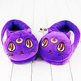 Мягкие тапочки кигуруми Лунный кот Код 10-2535, фото 2